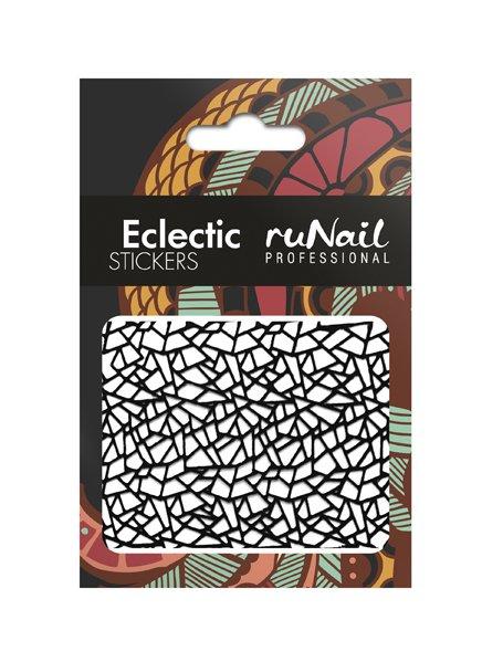 ruNail, 3D Наклейки для дизайна ногтей № 1745Наклейки для дизайна ногтей<br>Самоклеящиеся наклейки для дизайна ногтей. Абстракция.<br>