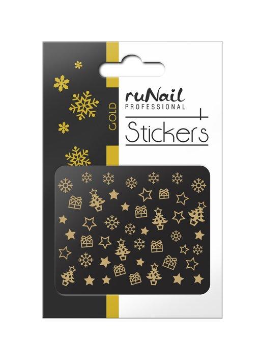 ruNail, 3D Наклейки для дизайна ногтей № 2066 (RuNail (Россия))