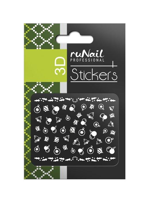 ruNail, 3D Наклейки для дизайна ногтей № 2067 (RuNail (Россия))