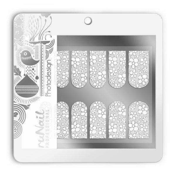 ruNail, Фотодизайн (свадебный) № 1498Фотодизайн для ногтей RuNail<br>Коллекция свадебного фотодизайна.<br>