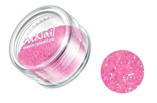 ruNail, Дизайн для ногтей: блестки 0293 (бледно-розовый)Блестки<br><br>
