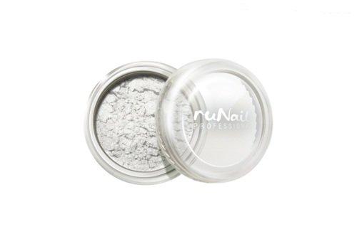 ruNail, Дизайн для ногтей: пигмент 1163 (белый, перламутровый)Пигмент<br>Цветной пигмент для дизайна ногтей предназначен для создания новых цветов и оттенков.<br>