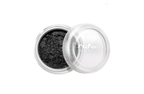 ruNail, Дизайн для ногтей: пигмент 1166 (темно-серый, перламутровый)Пигмент<br>Цветной пигмент для дизайна ногтей предназначен для создания новых цветов и оттенков.<br>