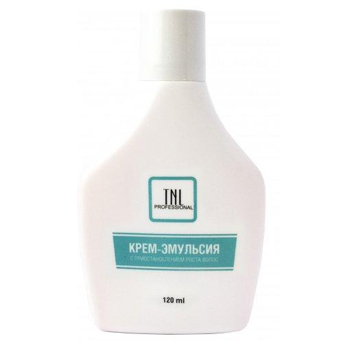 TNL, Крем-эмульсия с приостановлением роста волос (120 мл.)Сопутствующие материалы<br>Крем-эмульсия с приостановлением роста волос<br>