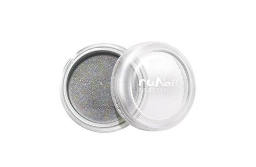 ruNail, Дизайн для ногтей: пыль 1171 (серебряный)Пыль<br>Микроблестки в виде мерцающей пыли для любого вида дизайна.<br>