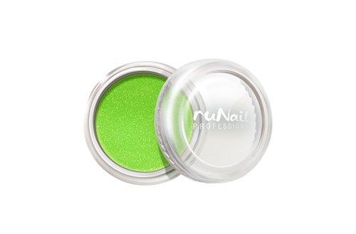 ruNail, Дизайн для ногтей: пыль 1172 (светло-зеленый)Пыль<br>Микроблестки в виде мерцающей пыли для любого вида дизайна.<br>