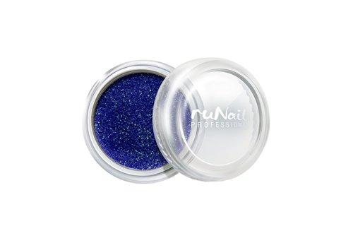 ruNail, Дизайн для ногтей: пыль 1177 (синий)Пыль<br>Микроблестки в виде мерцающей пыли для любого вида дизайна.<br>