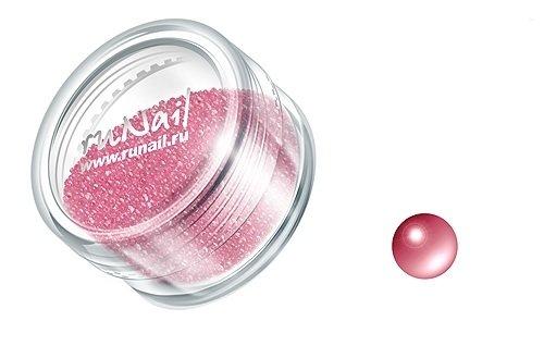 ruNail, Дизайн для ногтей: бульонки 0309 (нежно-розовый)Бульонки<br><br>