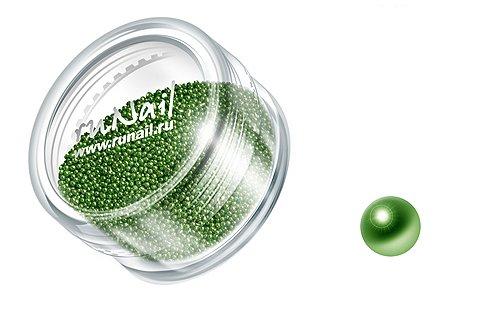 ruNail, Дизайн для ногтей: бульонки 0316 (салатовый)Бульонки<br><br>