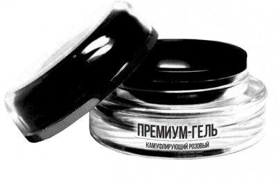 TNL, Гель Premium - камуфлирующий темно-розовый (15 мл.)Гели TNL<br>Гель premium камуфлирующий темно-розовый – идеален для использования при французском маникюре.<br>