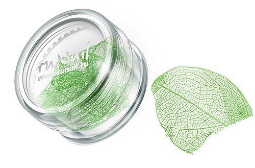 ruNail, Дизайн для ногтей: сухие листья 0442 (салатовый)Сухие листья<br>Сухие листья подходят для внутреннего дизайна при моделировании ногтей акрилом и гелем.<br>