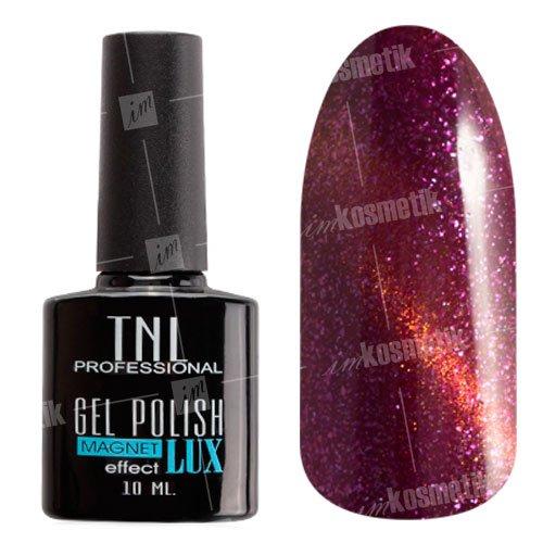 TNL, Magnet LUX - Гель-лак кошачий глаз №16TNL Professional <br>Гель-лак магнитный, розовато-лиловый, с перламутром и блестками, плотный<br>