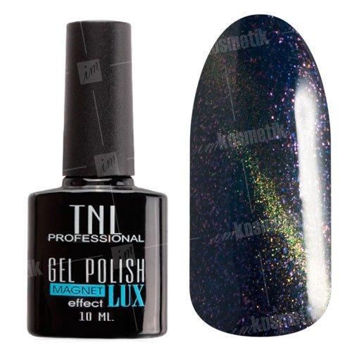 TNL, Гель-лак Magnet LUX №22 - Синяя ночь с блестками (10 мл.)TNL Professional <br>Гель-лак магнитный,синяя ночь, с перламутром и блестками, плотный<br>