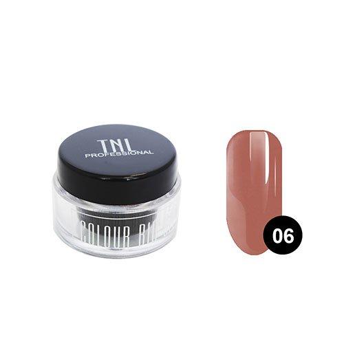 TNL, Цветной гель №06 - коричневый (7 мл.)Цветные гели TNL<br>Цветной гель - коричневый<br>