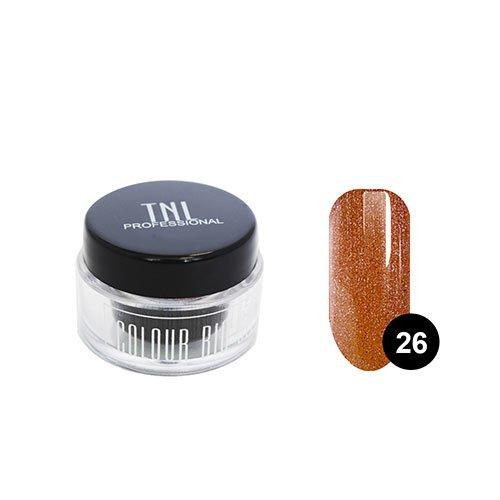 TNL, Цветной гель №26 - коричневый с блеском (7 мл.) (TNL Professional (Корея))