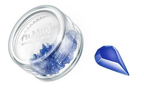 ruNail, Дизайн для ногтей: пластиковые капельки 0459 (синий)Пластиковые капельки<br><br>
