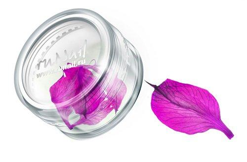ruNail, Дизайн для ногтей: сухоцветы 0470 (розовый)Сухоцветы<br>Сухоцветы подходят для внутреннего дизайна при моделировании ногтей акрилом и гелем.<br>