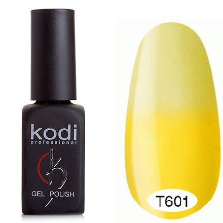 Kodi, Термо гель-лак № Т601 (8 ml)Kodi Professional <br>Гель-лаклимонный/молочно-желтый, без блесток и перламутра, полупрозрачный.<br>