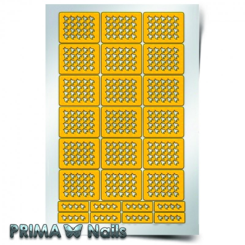 PrimaNails, Трафарет для дизайна ногтей - Принт