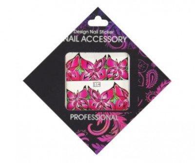 Nail Accessory, Слайдер-дизайн 114Слайдер-дизайн Nail Accessory<br><br>