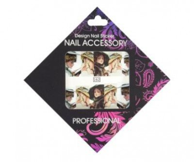Nail Accessory, Слайдер-дизайн 162Слайдер-дизайн Nail Accessory<br><br>