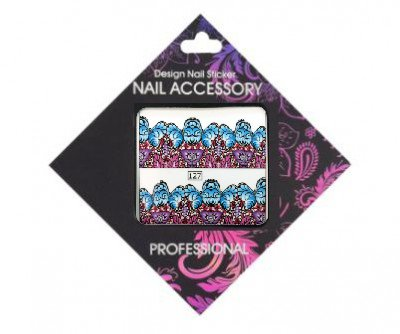 Nail Accessory, Слайдер-дизайн 127Слайдер-дизайн Nail Accessory<br><br>