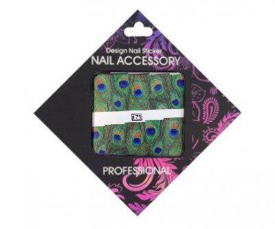 Nail Accessory, Слайдер-дизайн 175Слайдер-дизайн Nail Accessory<br><br>