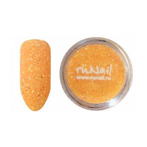 ruNail, Дизайн для ногтей: блестки 0640 (темно-желтый)Блестки<br><br>