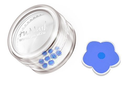 ruNail, Дизайн для ногтей: резиновые аппликации FIMO008Резиновые аппликации<br><br>