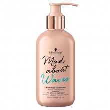 Schwarzkopf, Mad about Waves, Windswept Conditioner - Кондиционер для волос (250 мл.)