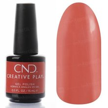 CND Creative Play, Гель-лак - Peach Of Mind №423 (15 мл., арт. 92383)