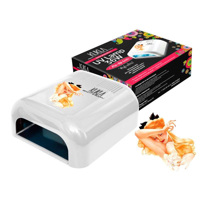 JessNail, KUKLA УФ лампа 36 Вт - Exclusive Collection AfroditaУФ-Лампы<br>Профессиональная ультрафиолетовая лампа мощностью 36 Ватт.<br>
