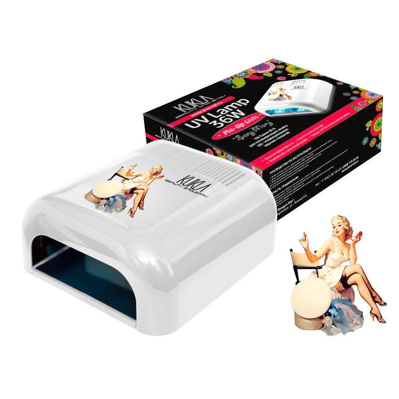 JessNail KUKLA, УФ лампа 36 Вт - Exclusive Collection Sexy MaryУФ-Лампы<br>Профессиональная ультрафиолетовая лампа мощностью 36 Ватт.<br>