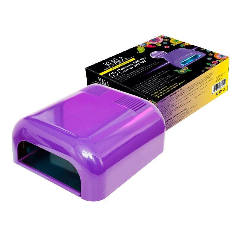 JessNail KUKLA, УФ лампа 36 Вт (фиолетовая, глянцевая)УФ-Лампы<br>Профессиональная ультрафиолетовая лампа мощностью 36 Ватт.<br>