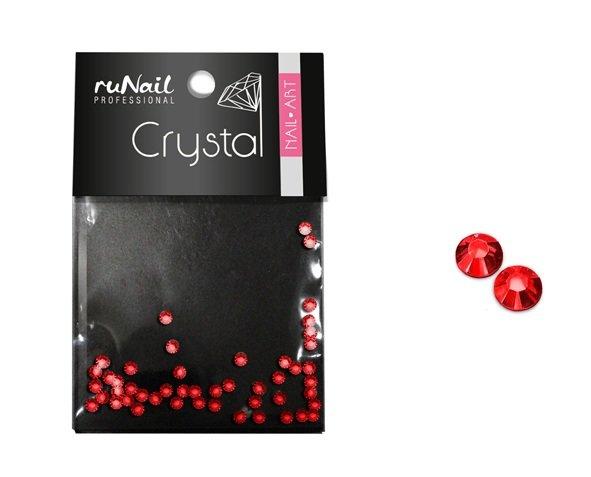 ruNail, Дизайн для ногтей: стразы 1482 (красные, 1,5мм) 50шт. (RuNail (Россия))