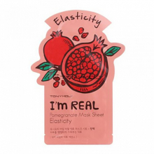 TONY MOLY, I`m Real Pomegranate Mask Sheet - Тканевая маска с экстрактом граната (21 мл.)