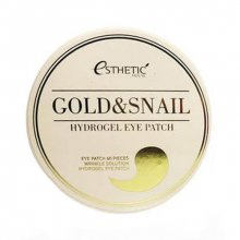 ESTHETIC HOUSE, Gold and Snail Hydrogel Eye Patch - Гидрогелевые патчи для глаз (золото-улитка, 60 шт.)