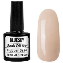Bluesky Шеллак, Rubber Base Cover Pink №014