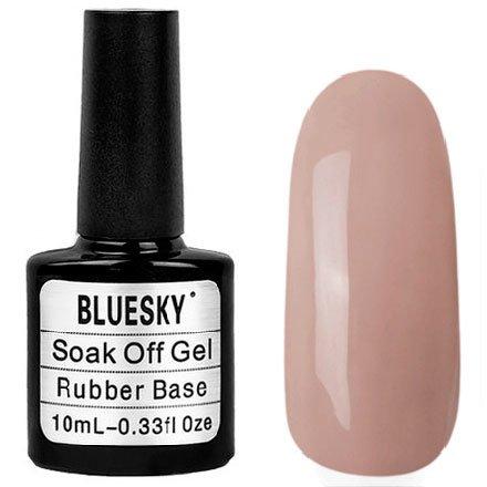 Bluesky Шеллак, Rubber Base Cover Pink №015Bluesky 10 мл<br>Каучуковый гель-лаккоричнево-карамельный, нюдовый оттенок, плотный<br>