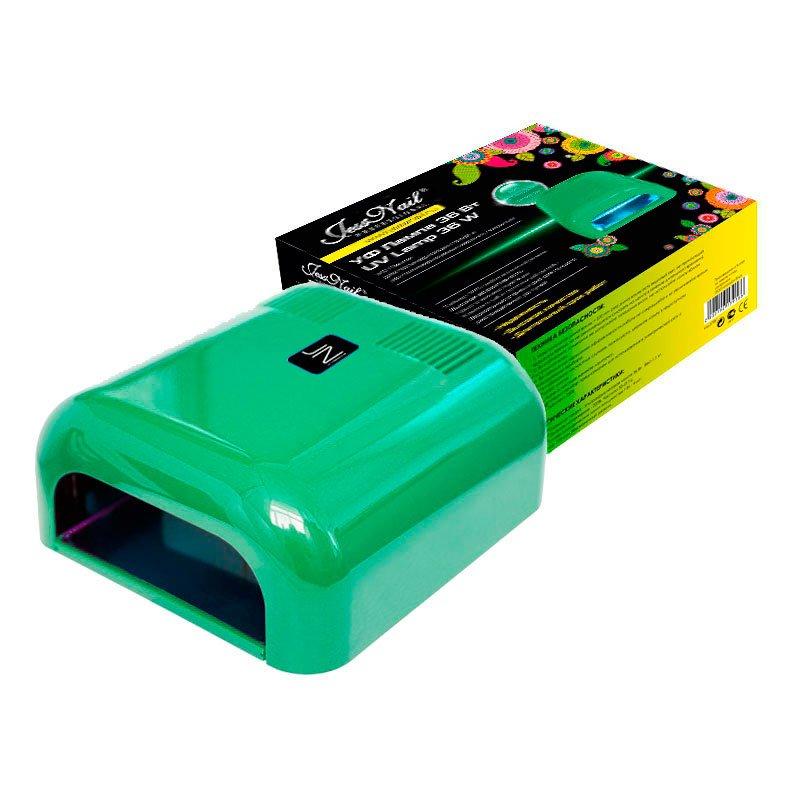JessNail, УФ лампа 36 Вт (зеленая, глянцевая)УФ-Лампы<br>Профессиональная ультрафиолетовая лампа мощностью 36 Ватт.<br>