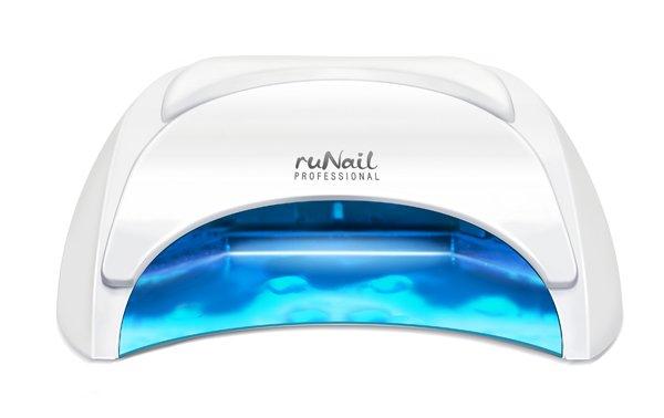 ruNail, LED лампа 30 ВаттLED-Лампы<br>LED Лампа для полимеризации гель-лаков, перманентных лаков, биогелей и других LED-материалов.<br>