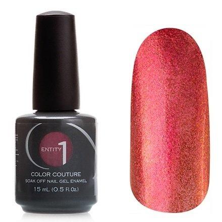 Entity One Color Couture, цвет №7155 Lavish Luxe 15 mlColor Couture Entity One<br>Гель-лак красно-бронзовый, с большим количеством золотистых блесток, полупрозрачный.<br>