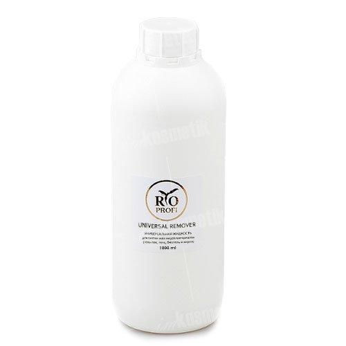 RIO Profi, Жидкость для снятия универсальная (1л.)Жидкости для снятия<br>Универсальная жидкость для снятиягель лака, геля и биогеля.<br>