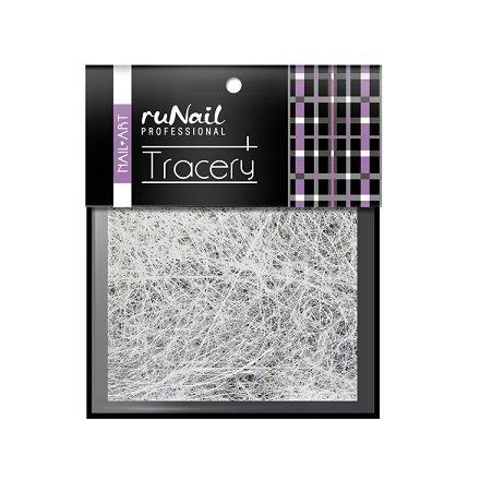 ruNail, Дизайн для ногтей: паутинка (белый) 2017Паутинка<br>Для создания необычного дизайна ногтей.<br>