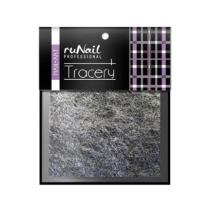 ruNail, Дизайн для ногтей: паутинка (серебро) 2015Паутинка<br>Для создания необычного дизайна ногтей.<br>
