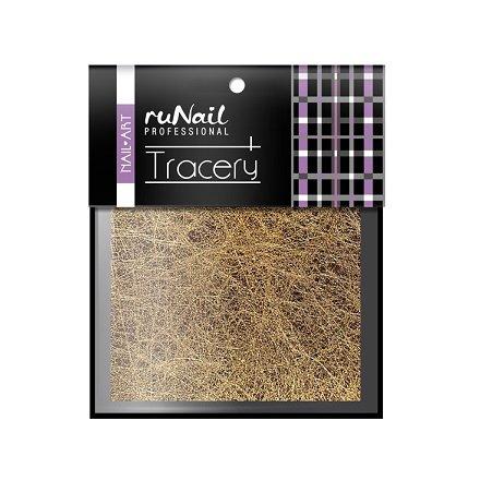 ruNail, Дизайн для ногтей: паутинка (бронза) 2013Паутинка<br>Для создания необычного дизайна ногтей.<br>