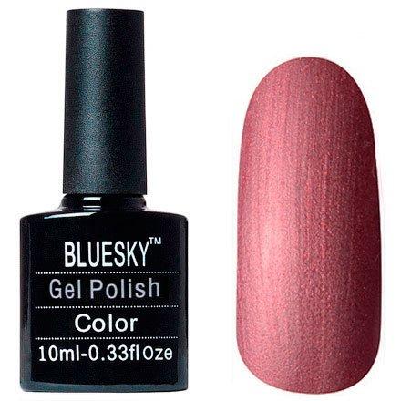 Bluesky Шеллак, цвет № 80617 Untitled Bronze 10mlBluesky 10 мл<br>Гель-лакбронзовый, с перламутром и бронзовыми блестками, плотный.<br>
