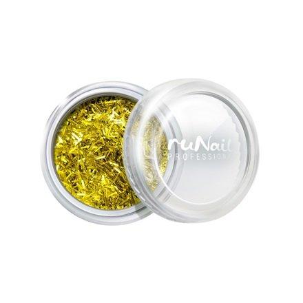 ruNail, Дизайн для ногтей: стружка (золотой) арт. 2004Стружка<br>Мелкая блестящая стружка золотистого цвета.<br>