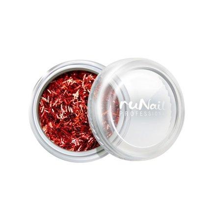 ruNail, Дизайн для ногтей: стружка (красный) арт. 2006Стружка<br>Мелкая блестящая стружка красного цвета.<br>