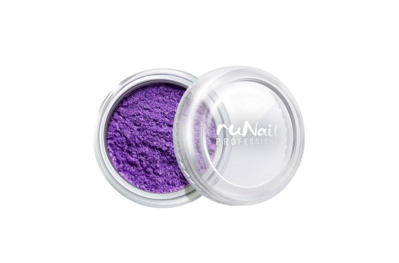 ruNail, Дизайн для ногтей: пыль 2011 (сиреневый, матовый)Пыль<br>Матовая пыль для любого вида дизайна.<br>